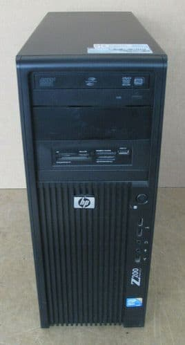 HP WorkStation Z200 Tower Xeon Quad Core X3450 2.66GHz 10GB 500GB HDD Win 10 Pro